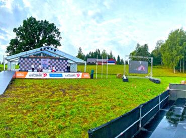 WRC Rally Estonia Powerstage SS17